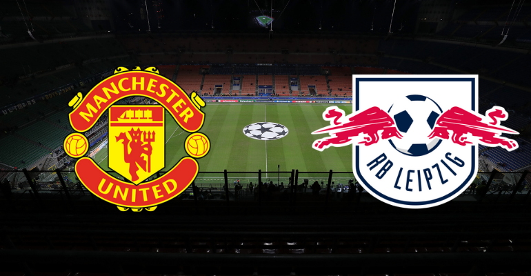 Manchester United e RB Leipzig duelam na Champions League