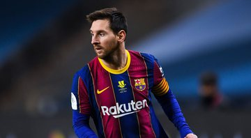 Messi, jogador do Barcelona - GettyImages