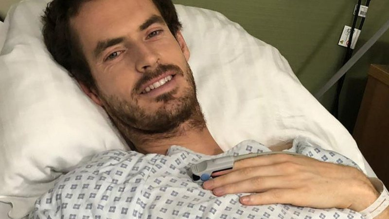Andy Murray relembrou cirurgia no quadril
