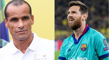 Rivaldo e Messi brilharam no Barcelona - GettyImages