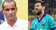 Rivaldo e Messi são ídolos do Barcelona - GettyImages