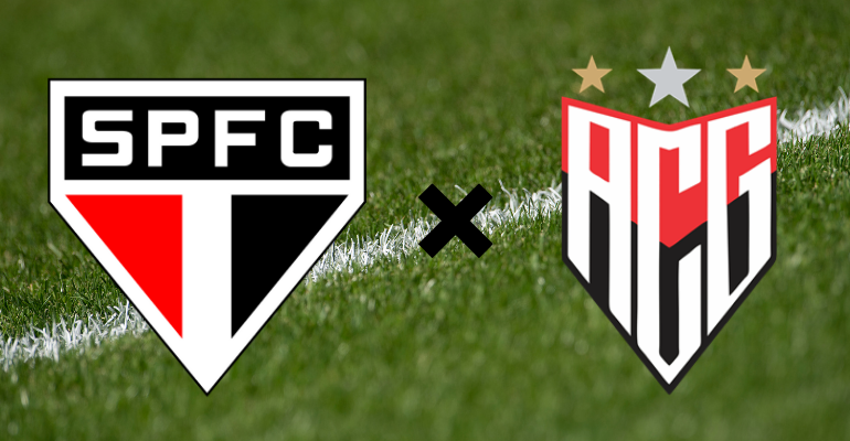 São Paulo x Atlético Goianiense: horário, local, escalações e transmissão