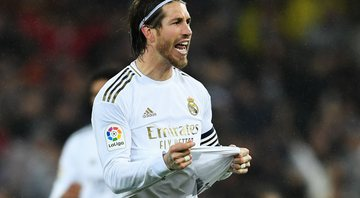 Sergio Ramos esteve fora da partida do Real Madrid - GettyImages