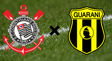 Corinthians e Guaraní do Paraguai - Getty Images/Divulgação