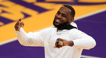 Lebron James, jogador do Los Angeles Lakers - GettyImages