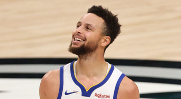 Stephen Curry, jogador do Golden State Warriors - GettyImages