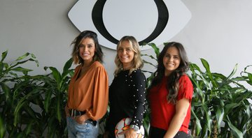 Alline Calandrini, Milene Domingues e Isabelly Morais - Tatiane Moreno/Band