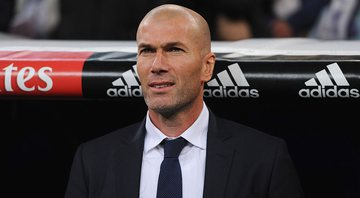 Zidane, treinador do Real Madrid - GettyImages
