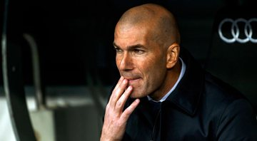 Zinedine Zidane, treinador do Real Madrid - GettyImages