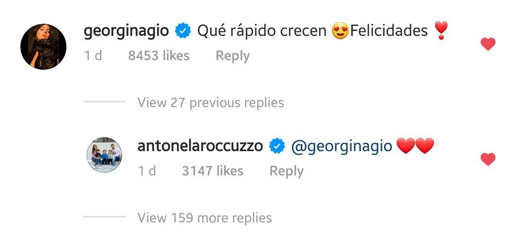 Instagram @antonelaroccuzzo